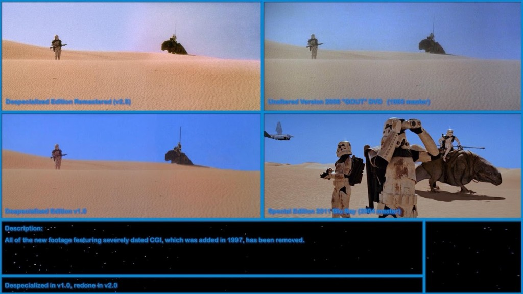 Star Wars Despecialized – Something of Interest