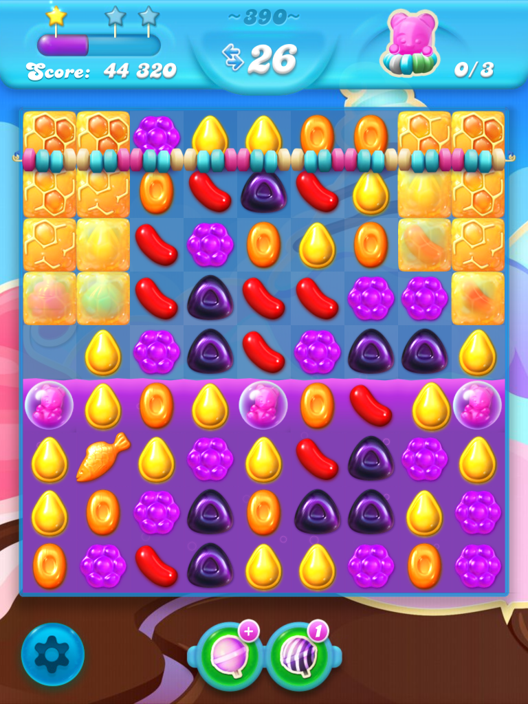 Candy Crush Soda Saga Level 390