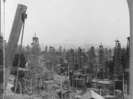 Los Angeles Oil Derricks